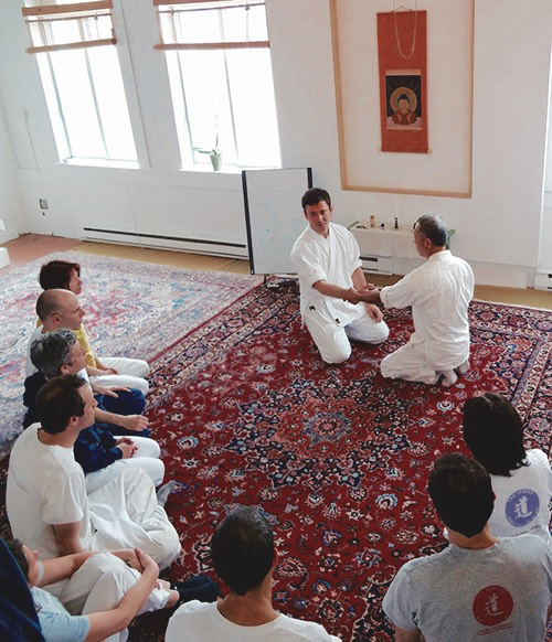 shiatsu training